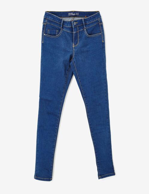 Dark blue super skinny jeans