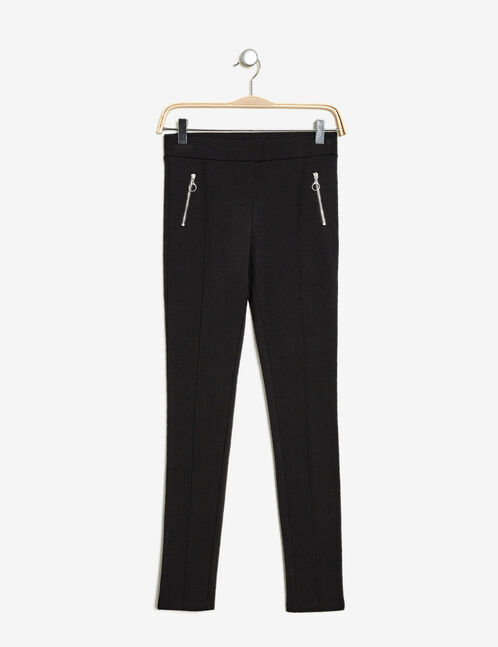 Black Milano trousers