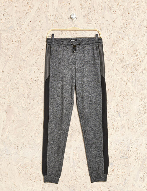 jogging fitness  gris anthracite chiné