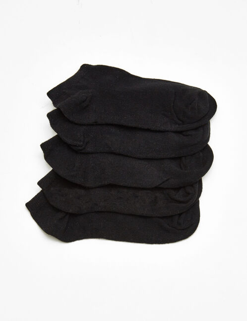 Basic black socks