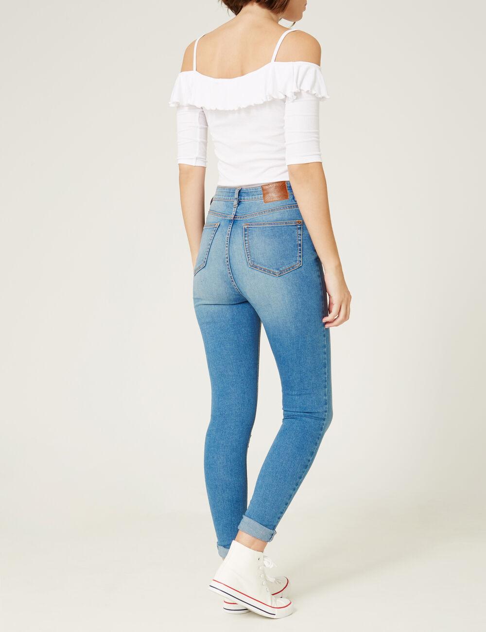 Beliebt Pantalon Femme : Destroy, Push-Up, Fluide… • Jennyfer TS53