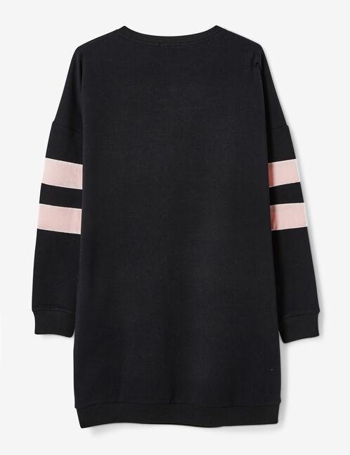 robe sweat luck noire