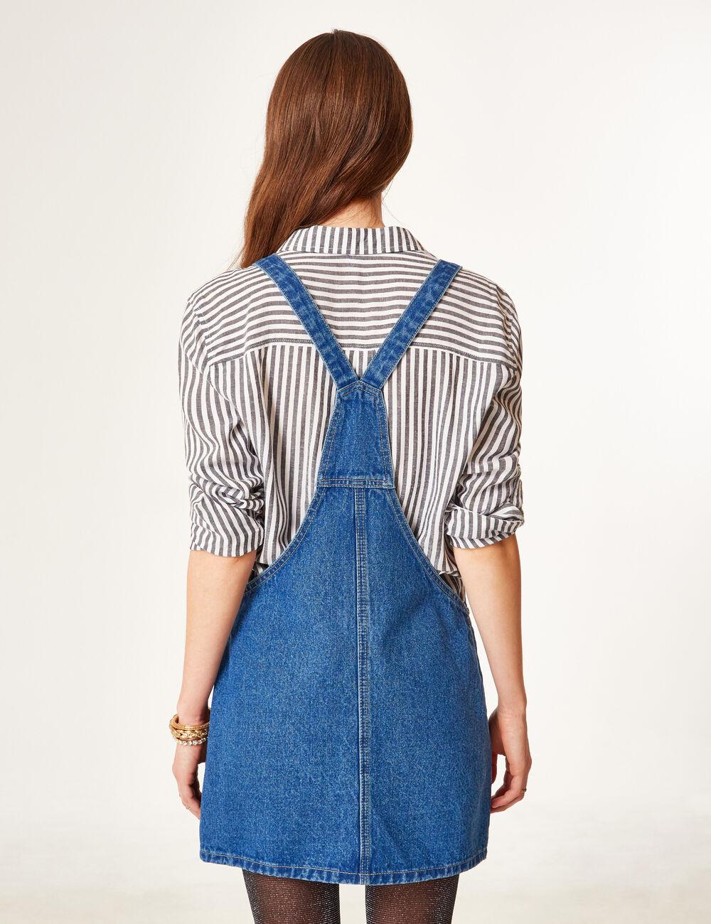 Robe chemise en jean jennyfer