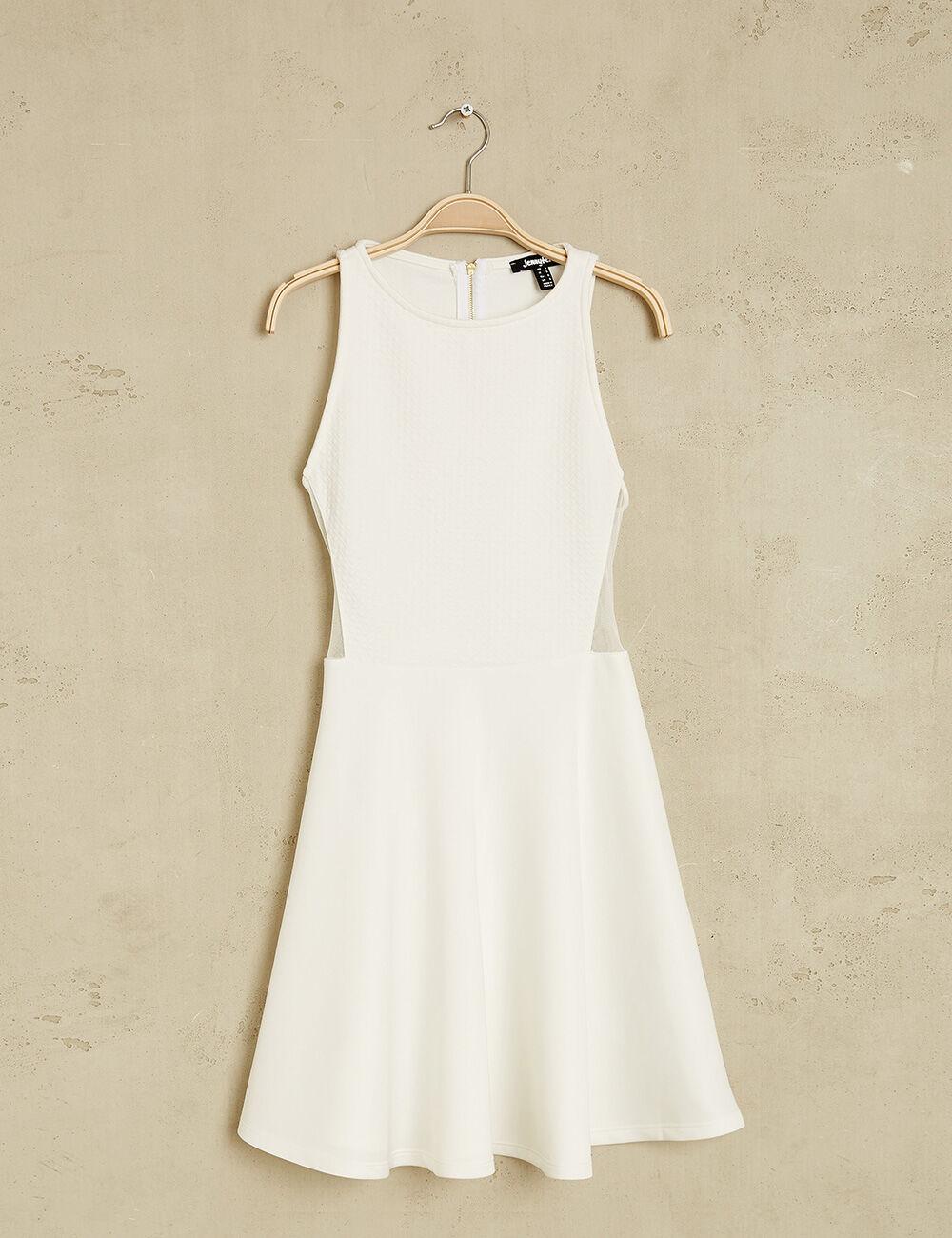 Robe blanche jennifer