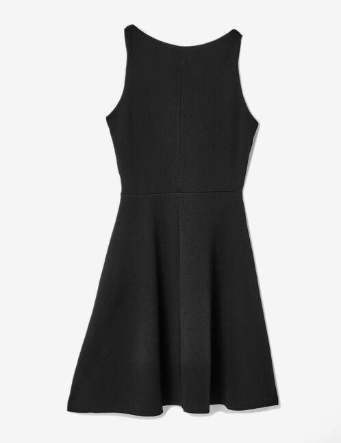 robe décolleté v noire