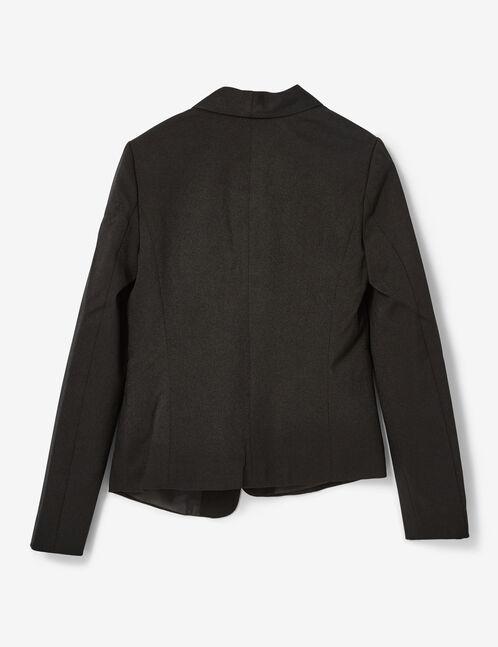 Black crêpe blazer