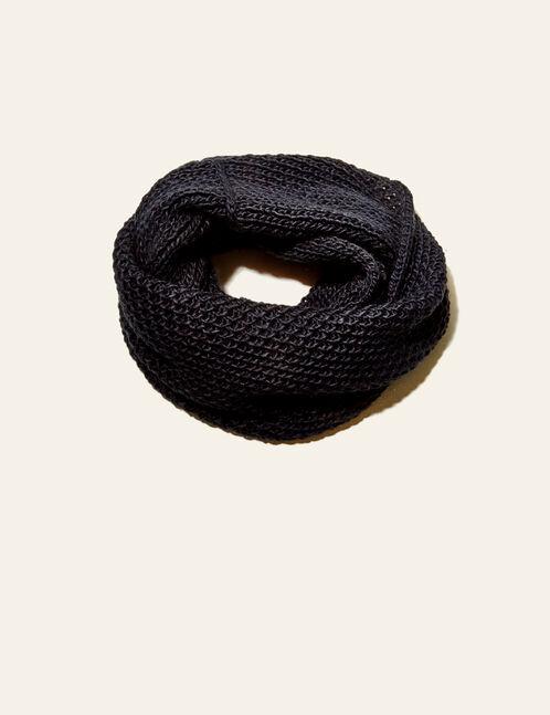 tour de cou oversize noir