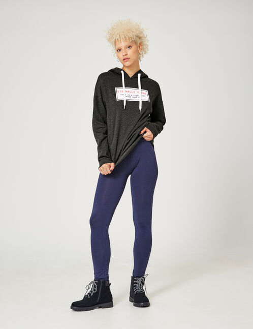 legging basic bleu marine