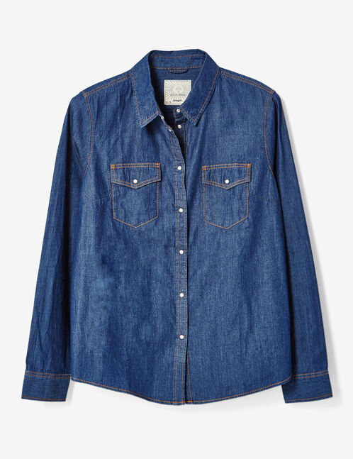 chemise en jean  brut