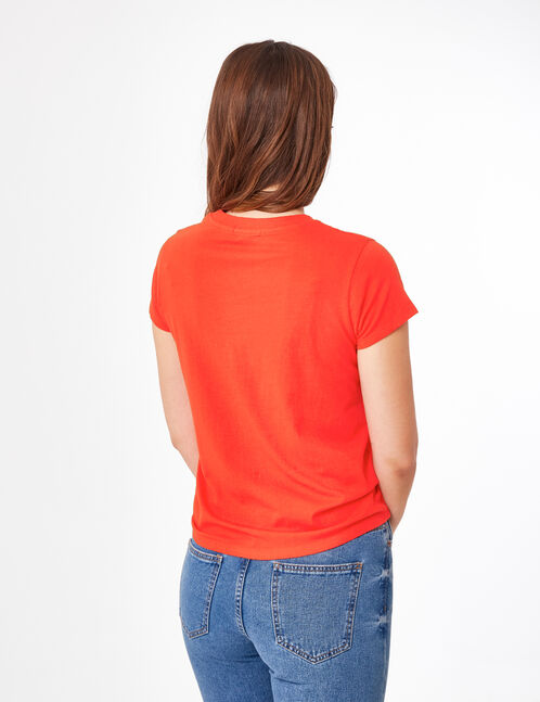 Basic red T-shirt