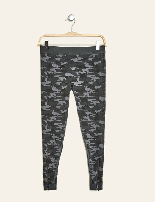Charcoal grey cropped trousers