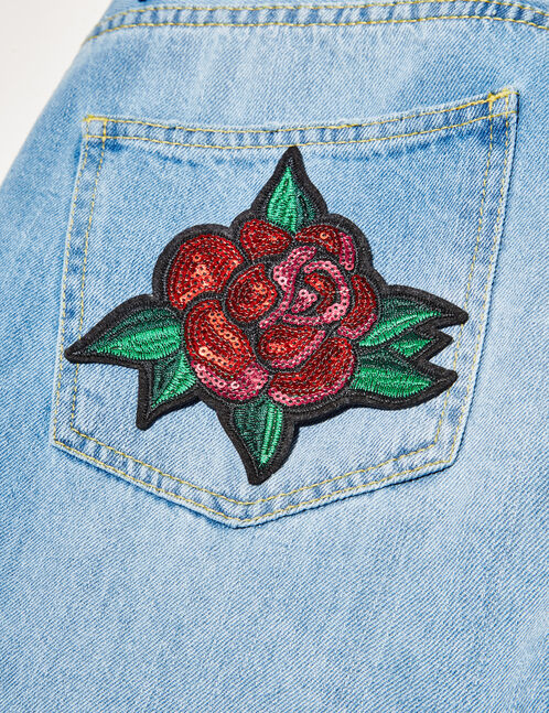 Sequined patches