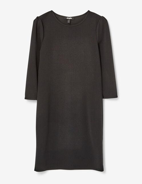 robe droite noire