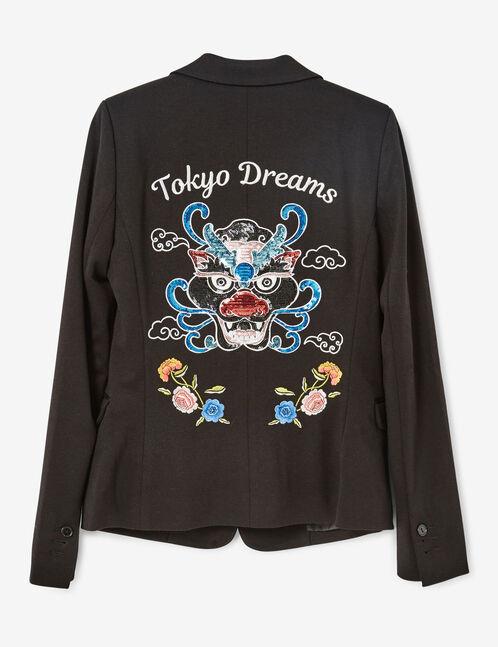 blazer tokyo dreams noir