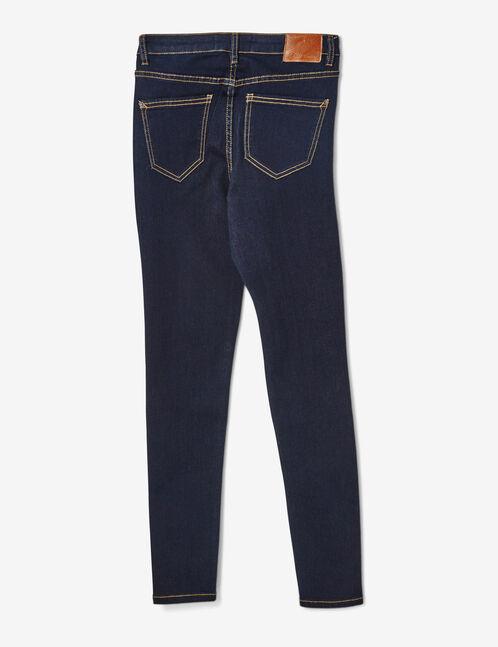 jean skinny taille haute brut