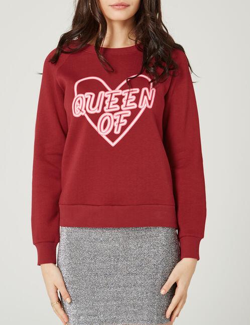 sweat queen of heart rouge
