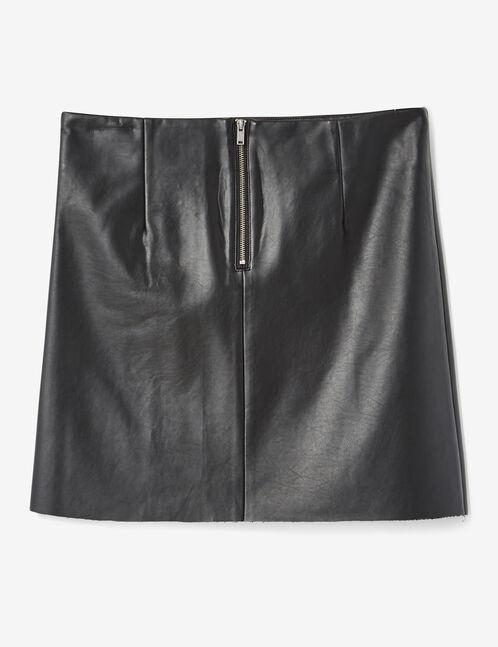 jupe avec laçage noire