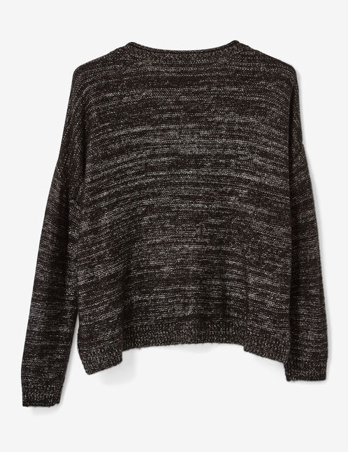 pull brooklyn gris anthracite chiné