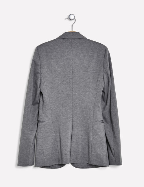 blazer gris chin femme jennyfer. Black Bedroom Furniture Sets. Home Design Ideas