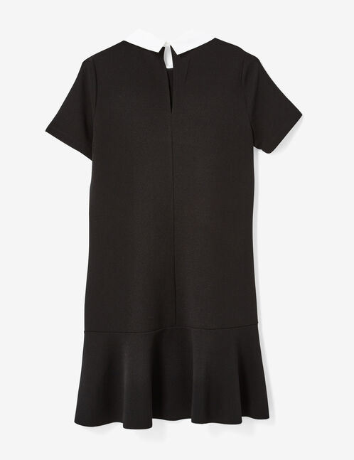 robe à patchs noire