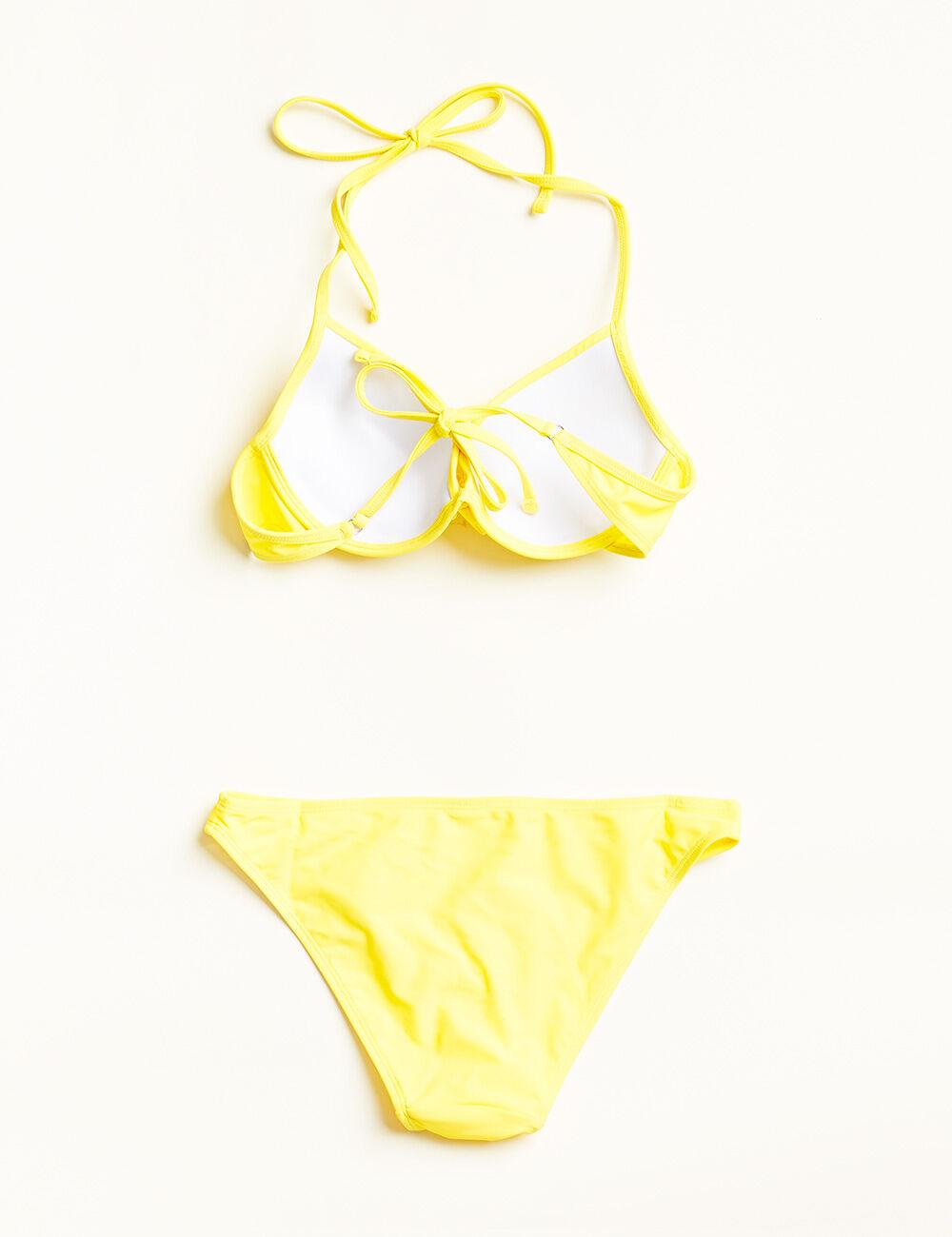 maillot de bain haut push up jaune femme jennyfer. Black Bedroom Furniture Sets. Home Design Ideas