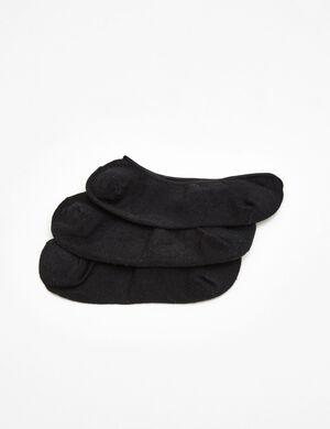 chaussettes pour ballerines noires