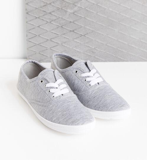 Grey basic trainers