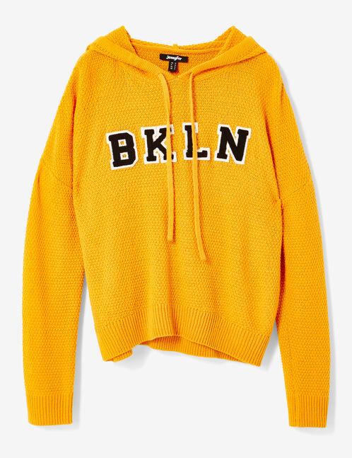 Ochre hoodie