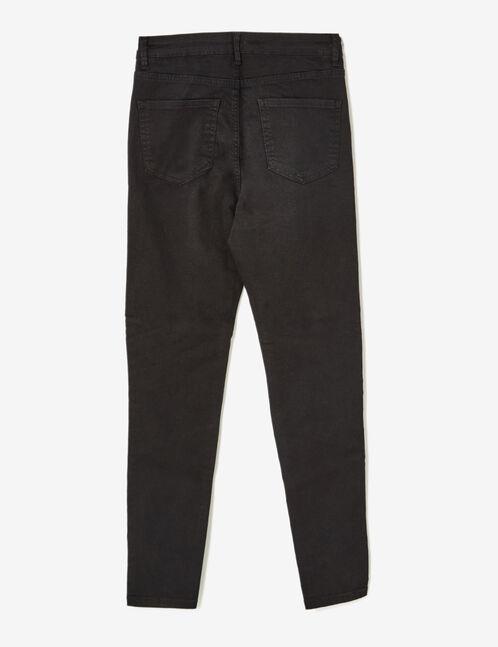 pantalon esprit biker noir