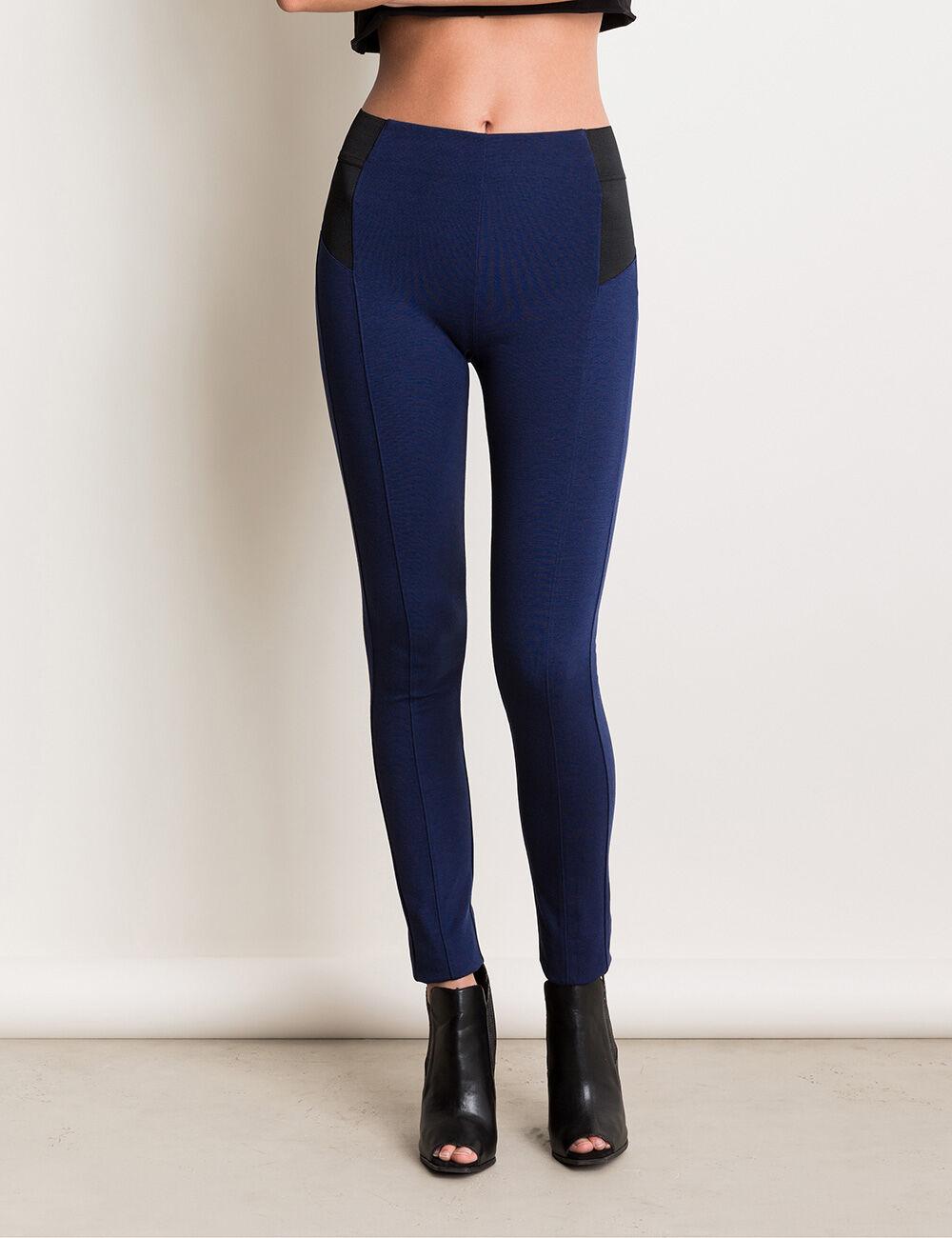 pantalon en milano bleu marine femme jennyfer. Black Bedroom Furniture Sets. Home Design Ideas