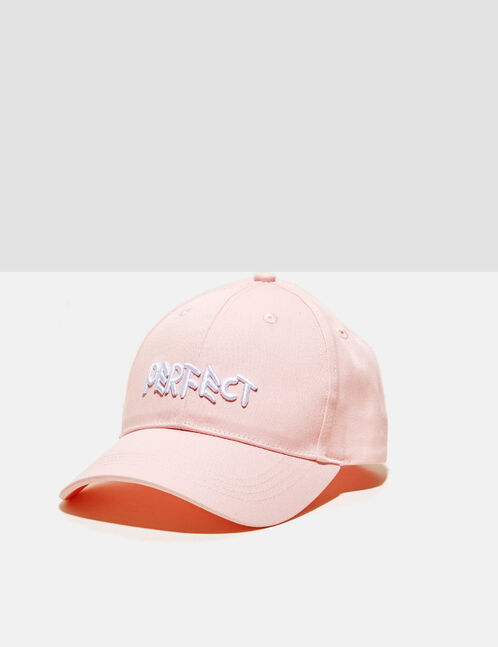 "Light pink ""perfect"" cap"