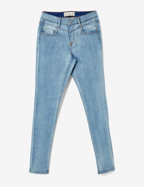 jean super skinny  bleu clair