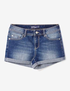 short en jean medium blue