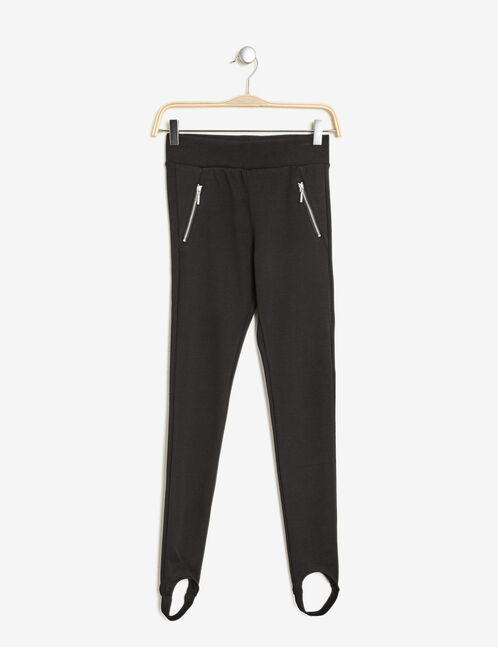 Black ski leggings