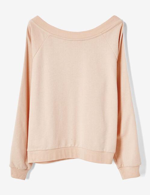 "Light pink ""lady"" sweatshirt"
