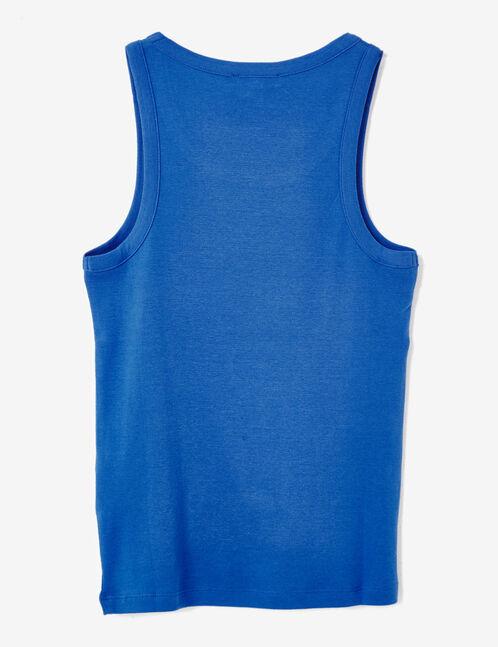 Basic blue tank top