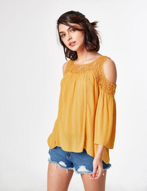 Soldes chemise femme blanche en jean carreaux jennyfer - Quelle couleur avec le orange vetement ...