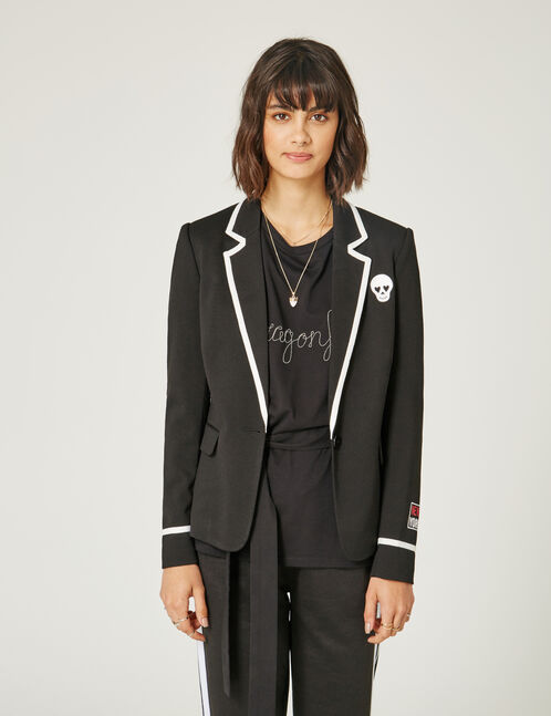blazer message bklyn 82 noir