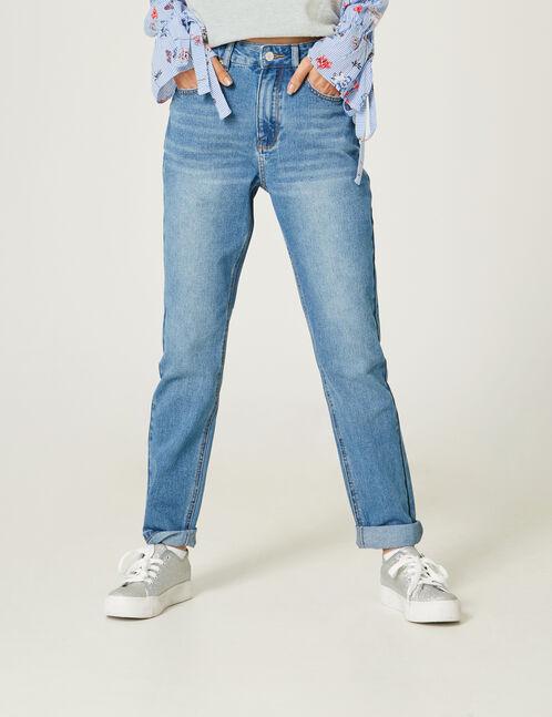 Medium blue mom jeans