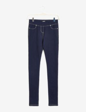 jegging basic bleu jean