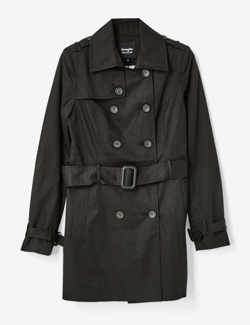 veste trench noire
