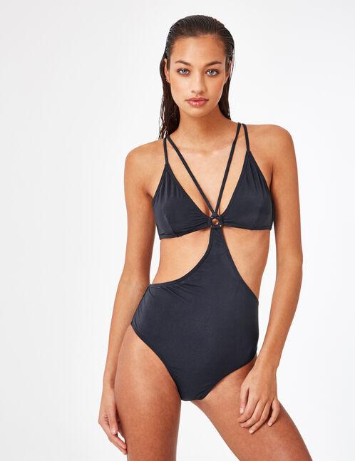 maillot trikini noir