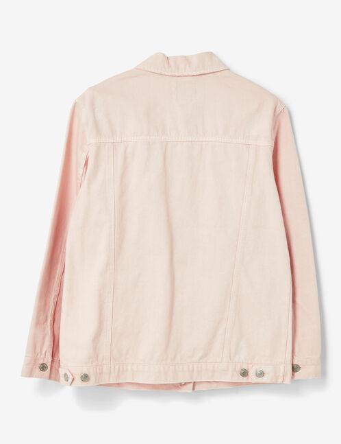 Light pink canvas jacket
