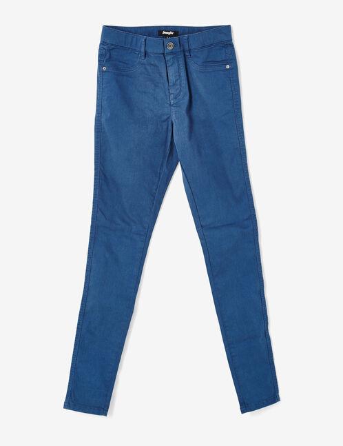 jegging taille élastiquée bleu foncé