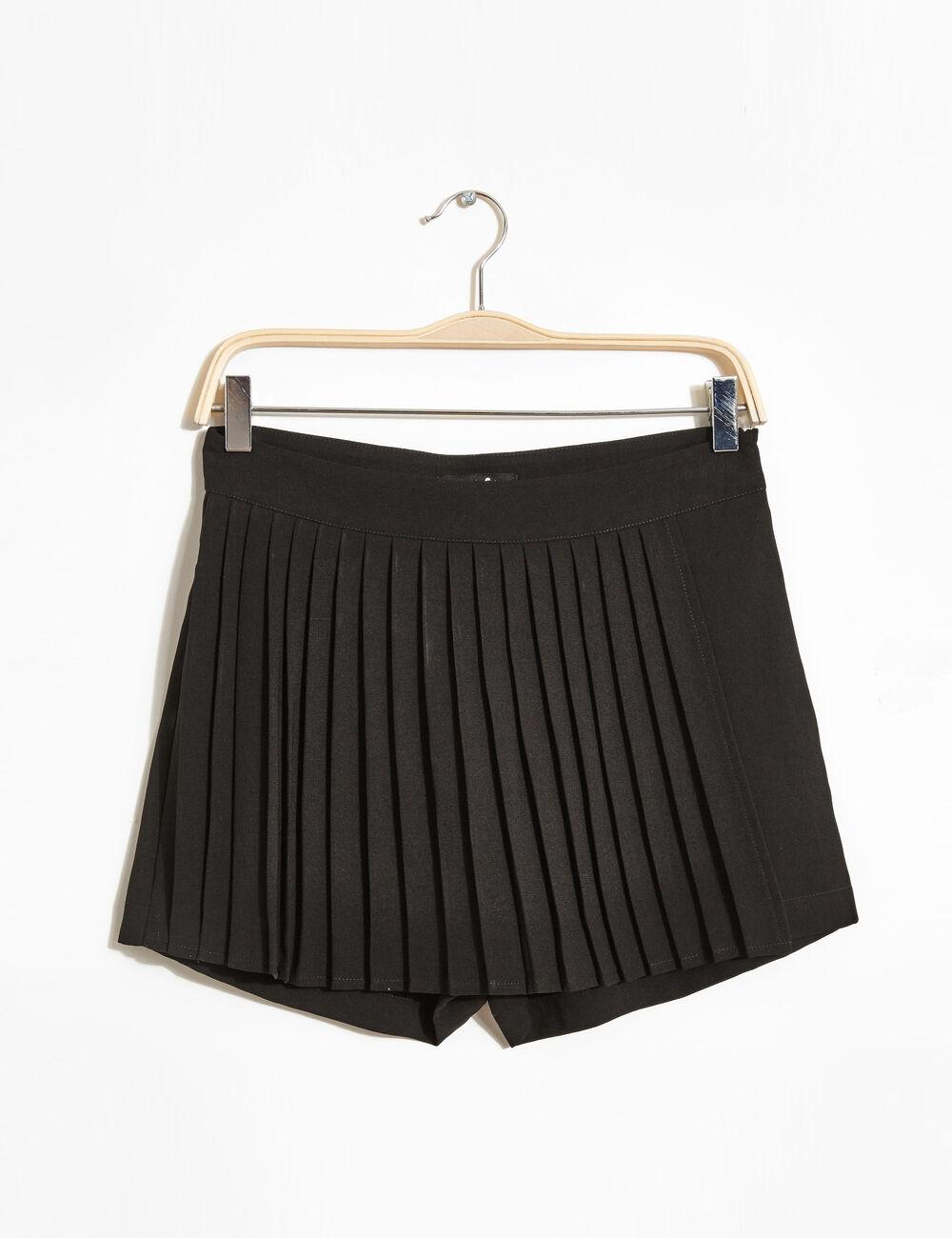 jupe short pliss e noir femme jennyfer. Black Bedroom Furniture Sets. Home Design Ideas
