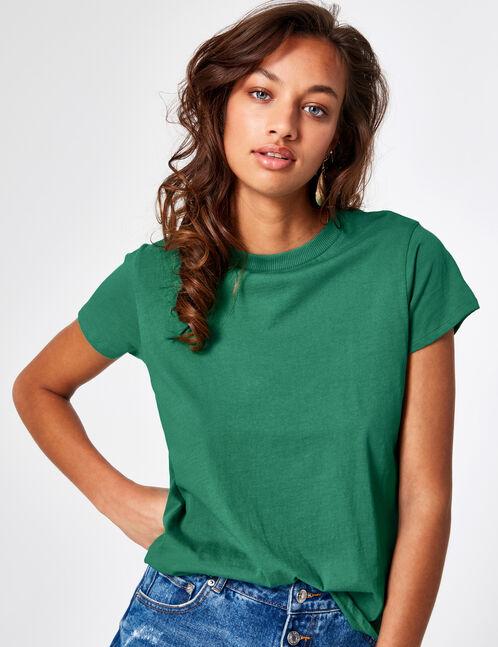 tee-shirt basic vert