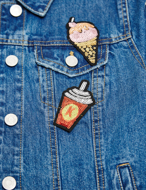Sequinned patches