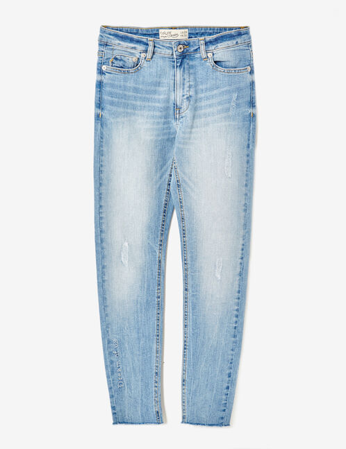 jean skinny dream of us bleu clair