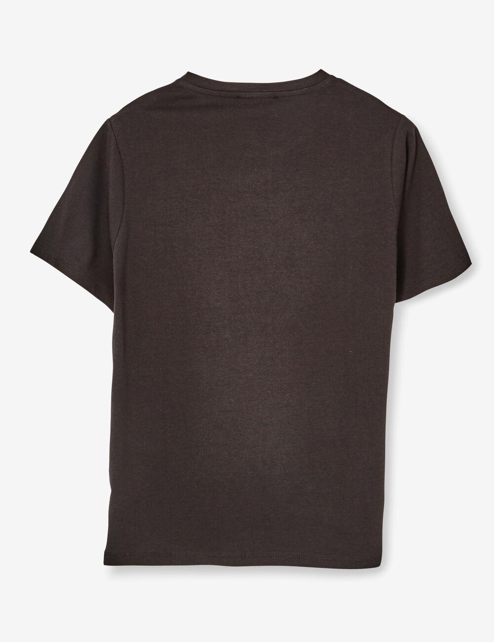 tee shirt avec perles noir femme jennyfer. Black Bedroom Furniture Sets. Home Design Ideas
