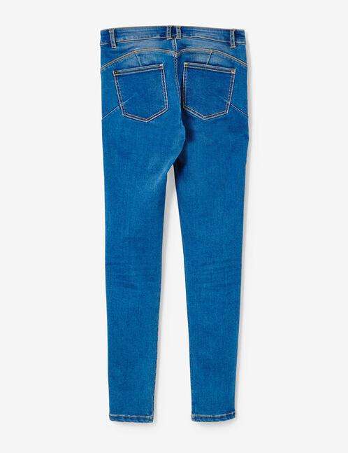 jean super skinny push-up medium blue